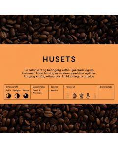 Black Cat Husets Kaffeblanding 1kg Hele Bønner