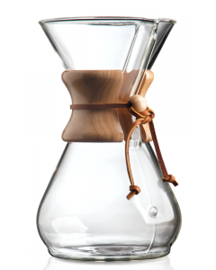 Chemex 8 kopps kaffe håndbrygger