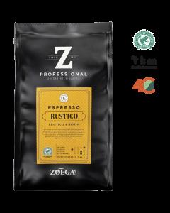 Zoégas Rustico espresso Hele Bønner 500gr