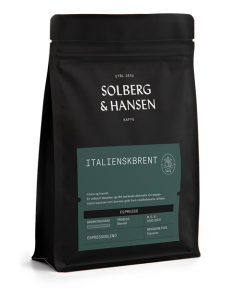Solberg & Hansen - Italienskbrent Espresso Hele Bønnner 2,5 kg