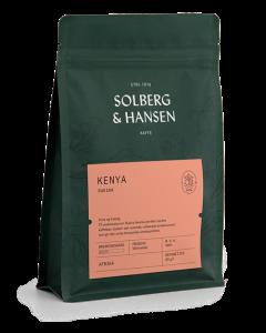 Solberg & Hansen - Kenya - Rukira Hele Bønner 250g