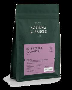 Solberg & Hansen Koffeinfri Columbia - Inzá Hele Bønner 250g
